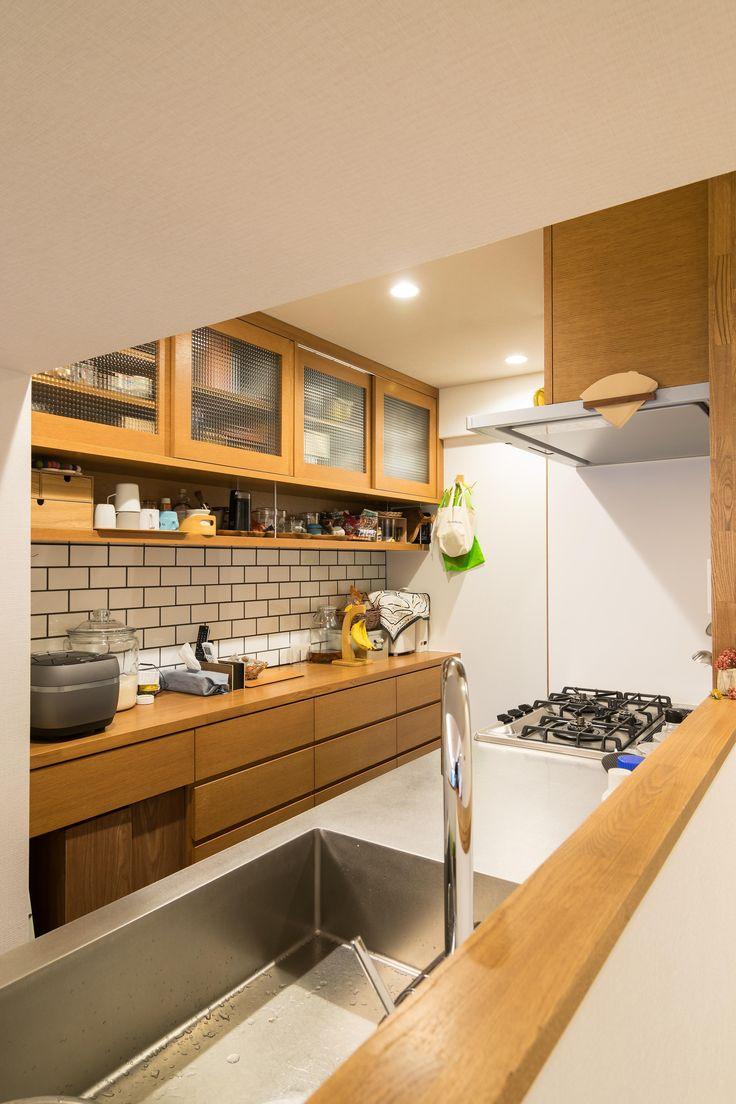 子どもの小上がりのある家 すくすくリノベーションvol.9の部屋 工夫いっぱいのオーダーカップボード