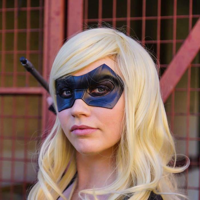 Black Canary Mask Sara Lance Cosplay Leather Mask Arrow Series Tv Show Super Hero Halloween Masquerade Carnival Superheroine Female Heroines by LMEmasks on Etsy https://www.etsy.com/listing/239053358/black-canary-mask-sara-lance-cosplay