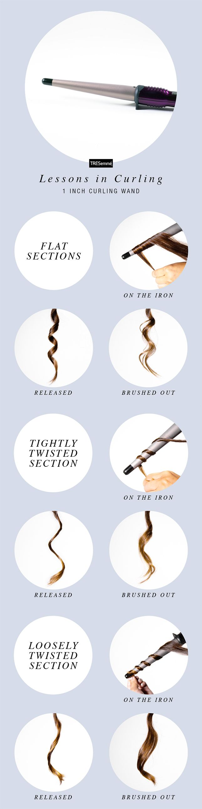 "Remember the first time you saw a curling wand and thought, ""how am I supposed to curl my ends without a clamp?!"" Time to embrace the rock n' roll straight-end look or master a heat glove, friends, because wands hold the secrets to some gorgeous hair."