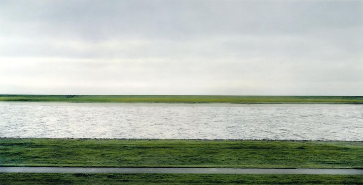 Andreas Gursky, 'The Rhine II' 1999