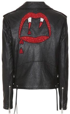 62f46d87c6e Saint Laurent Classic L01 Blood Luster leather jacket