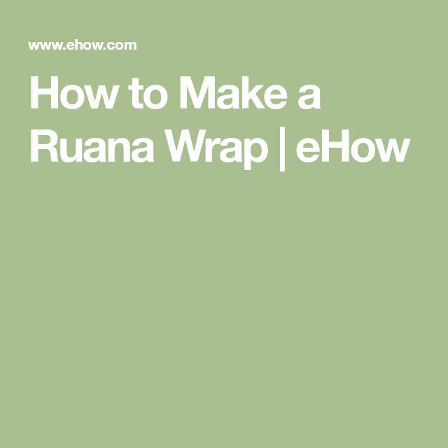 How to Make a Ruana Wrap | eHow