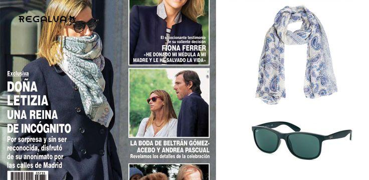 Doña Letizia hoy en #Arco y ayer de paseo por #Madrid, es noticia. Blog https://regalva.com/blog/dona-letizia-incognito-madrid-la-sorpresa-inesperada/ #moda #noticias #outfit #revista #tendencias #gafas #fular