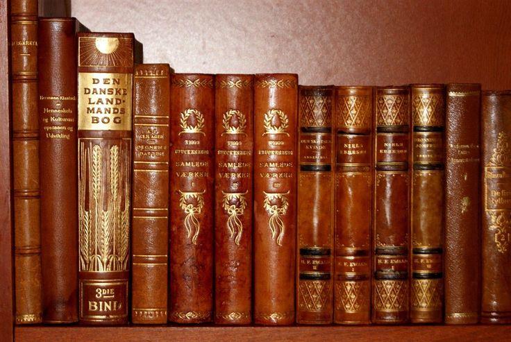 92 Fine Antique Leather Bound Books Gold Decor Kipling Lagerlöf | eBay