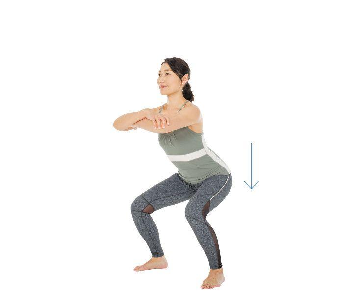 2〜3日に1回のペースでOK! 筋肉を強化する筋トレ【キレイになる活】Marisol ONLINE 女っぷり上々!40代をもっとキレイに。