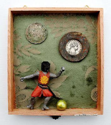 mano kellner, project 2015,kunstschachtel /art box nr 39/2015, spiel mit der goldenen kugel