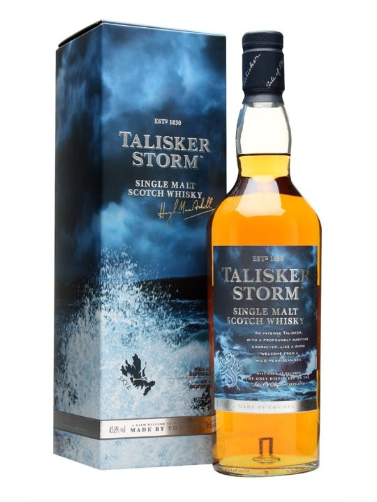 Talisker Storm Scotch Whisky: He says it's his favourite whisky