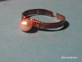 DIY..Tutorial...Copper ring..jak zrobić prosty pierścionek ? - Anielska Aniela-DIY,Tutorial,szycie, przeróbki, inspiracje,biżuteria,vintage,retro