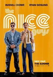 """The Nice Guys        The Nice Guys      Dobri momci  Ocena:  7.60  Žanr:  Action Comedy Crime Mystery Thriller  """"Nice pair""""Jackson Healey is a fixer who fixes things with his fists. Holland March is a cop who following his wife's death became a drunk. He would become a P.I. who takes on weird cases. He is currently working for a woman who wants him to prove that her niece a porn actress is alive when everyone knows she died recently. His investigation takes him to a girl named Amelia who…"""
