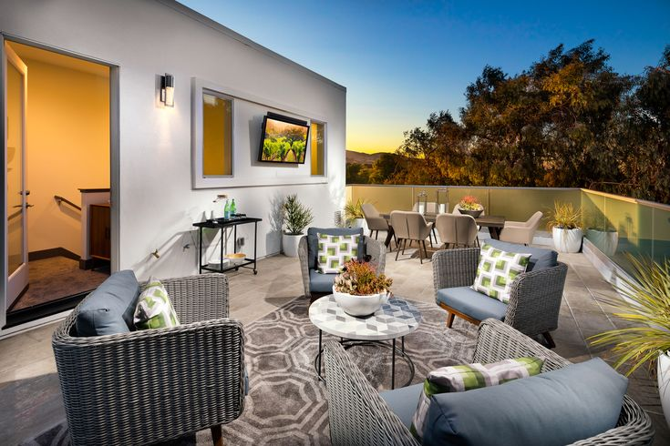 New KTGY-Designed Townhomes Introduce Rooftop Decks to Downtown Dublin