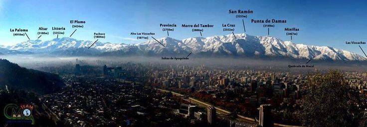 Cerros de Santiago