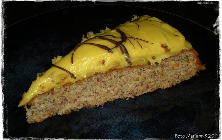 Dette var kaka si det :) Du kan ikkje kjenne forskjell frå denne kaka, til ei som er laga med vanlig sukker. Tagatesse er ett fantasti...
