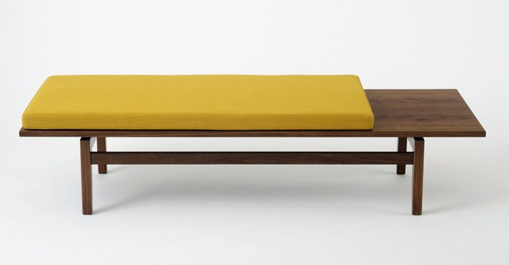 T621 Bench with Cushion Benchmark Furniture