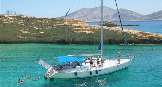 Sailing Panos | Naxos.gr