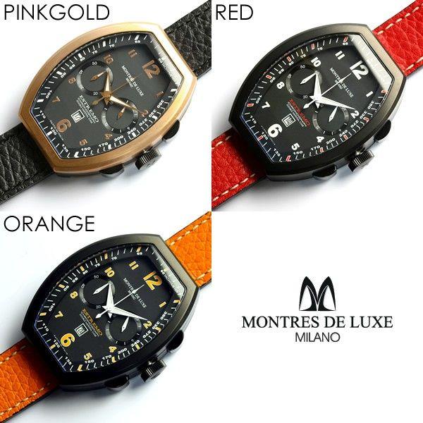 【楽天市場】【送料無料】【腕時計】【メンズ】クロノグラフ 腕時計 メンズ腕時計 モントレス・デラックス クロノグラフ 腕時計 クロノ うでどけい MEN'S ブランド腕時計人気ランキング【0405_腕時計】:CAMERON