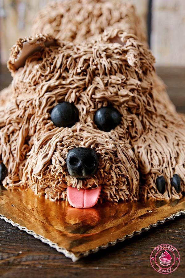 Czekoladowy tort Piesek
