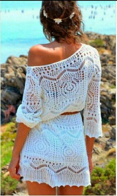 Crochet dress...
