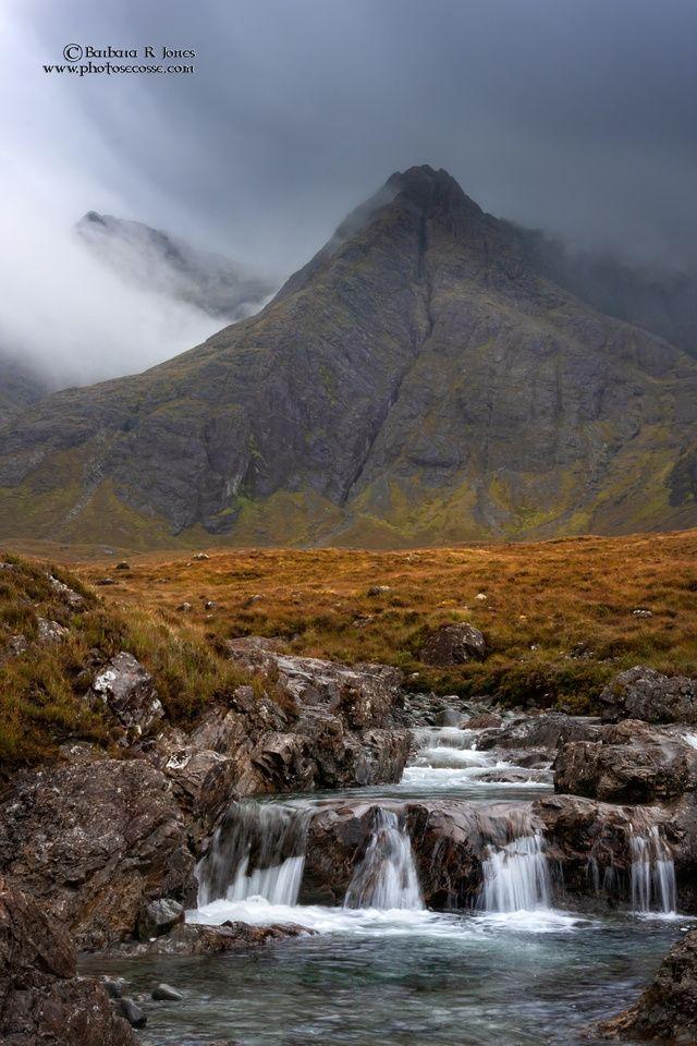 Fairy Pools Glen Brittle Landscape Photography Skye Scotland Ireland Landscape Fairy Pools Mountain Landscape Painting
