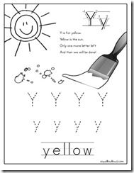 Y is for Yellow {Totally Tots}