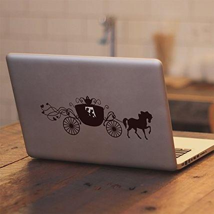 モバイルケース・アクセサリー MacBook対応 アートステッカー☆シンデレラ☆Disney Cinderella(2)