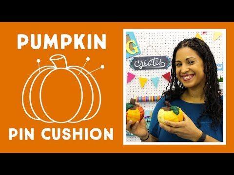 Pumpkin Pin Cushion: Easy Craft Tutorial with Vanessa of Crafty Gemini Creates - YouTube