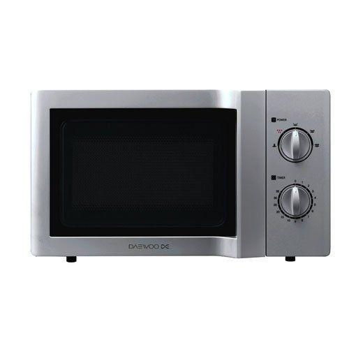 Daewoo Kor6l65sl Manual Microwave Oven 20 L 800 W Silver