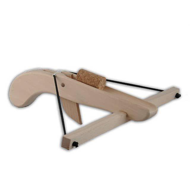 Cork-Bow - Wooden Toy Croproyectos de juguetes de maderas.ssbow - Bella Luna Toys
