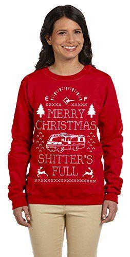 1299 Prime Tees Women\u0027s Merry Christmas Shitters\u0027 Full Plus Size