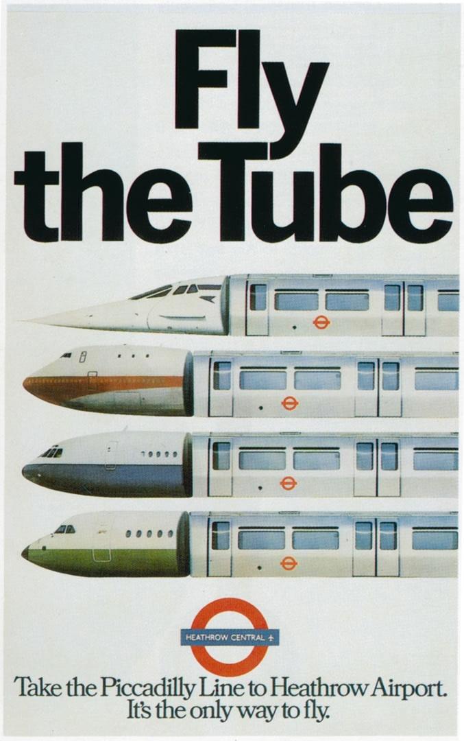 Fly the Tube, 1977. London, England