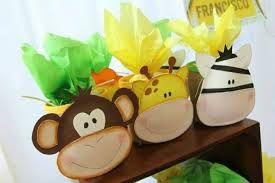 Resultado de imagen para souvenirs infantiles de animales de la selva