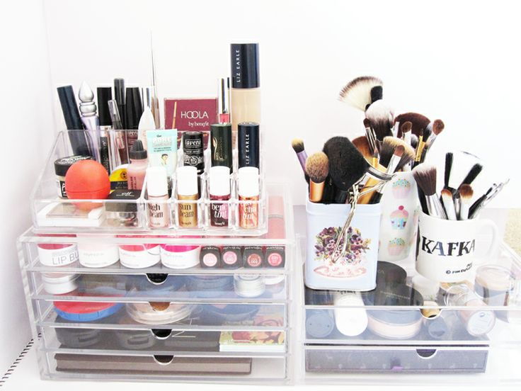 We Were Raised By Wolves: MUJI Clear Acrylic Unit Drawers - Make-Up Storage #1