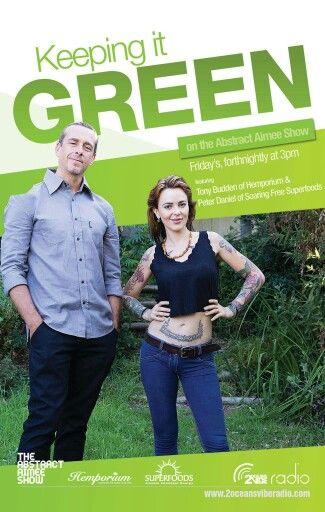 Sustainable Living : my latest show on 2oceansvibe Radio with Tony Budden of the Hemporium