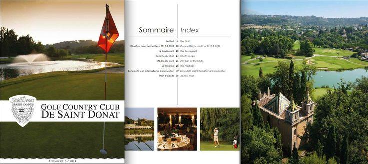 Catalogue Golf De St Donnat