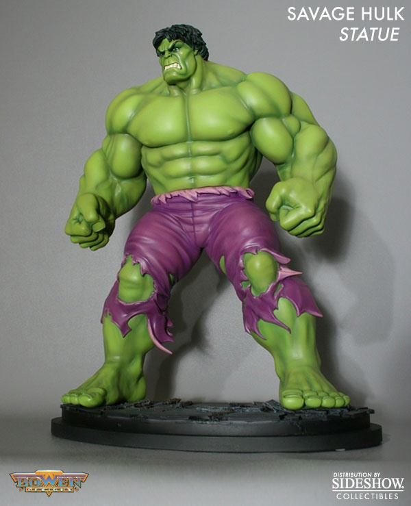 Alter Ego Comics presents the Savage Hulk Statue. The Green Goliath stands over 15 inches tall and is made of high-quality polystone. The Savage Hulk Statue will make a Marvel-ous addition to your collection. Order today to guarantee availability.