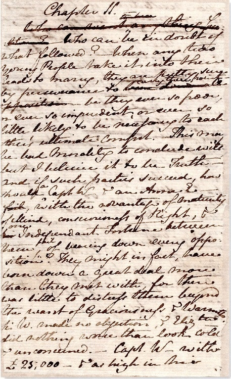 Successful writers know how to master the  tools of their trade ... Quill pens to ePub   ~Original manuscript of Jane Austen's 'Persuasion'