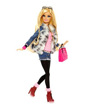 I'm a fashionista Barbie.. Take this quiz to find ur inner girly ness
