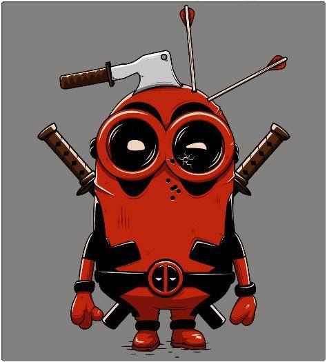 Deadpool Minion, es un personaje el cual se diseño de la union de dos grandes películas, Los Minions y Deadpool, el cual se ve que siempre lleva equipadas sus dos katanas y no le importa cuanto daño recibe, siempre esta dispuesto a luchar; da a transmitir una gran sensacion de ternura y diversion