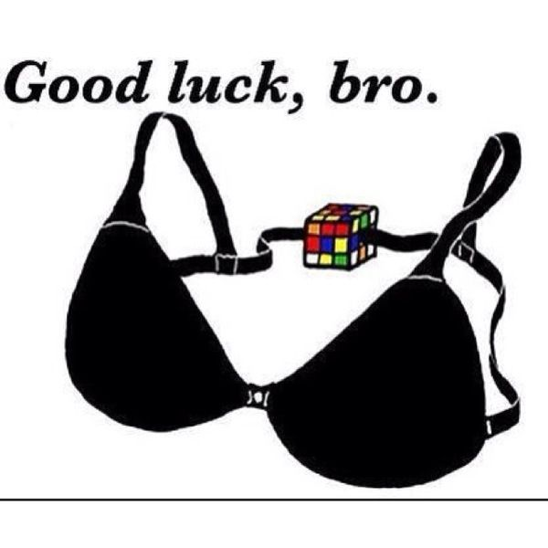 .: Brassiere, Laughing, Goodluck, Good Luck, Giggl, Funny Stuff, Humor,  Bandeau,  Bra