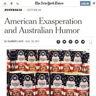 English-Spanish Cognates:  Exasperación Americana, y Humor Australiano.