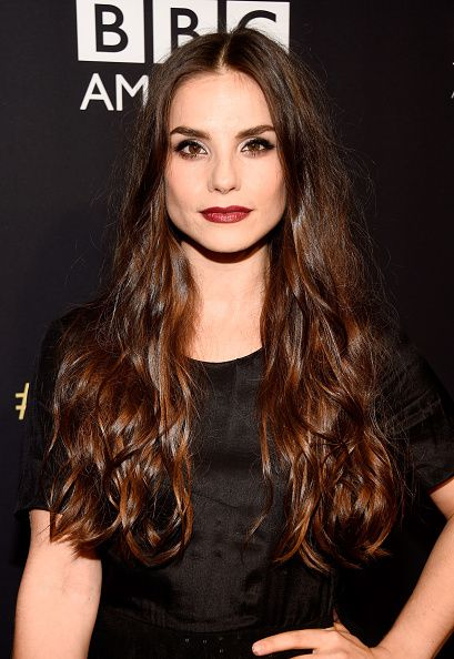 Charlotte Riley (Peaky Blinders) at the BAFTA Los Angeles Jaguar Britannia Awards. Hair by Derek Williams. Makeup by Hinako.
