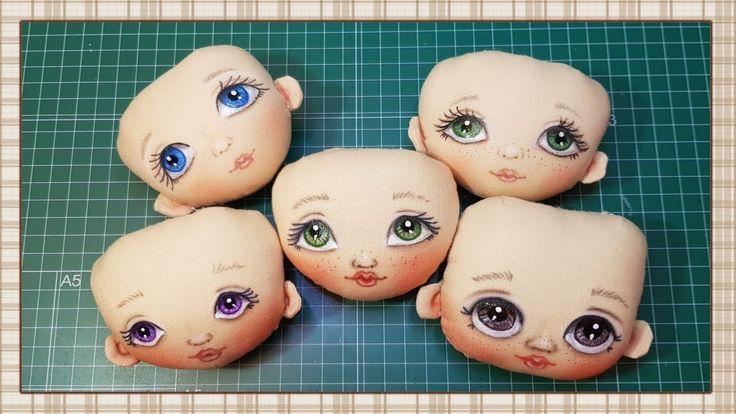 Tutorial: Pintar cara de muñeca / Tutorial: Painting doll face