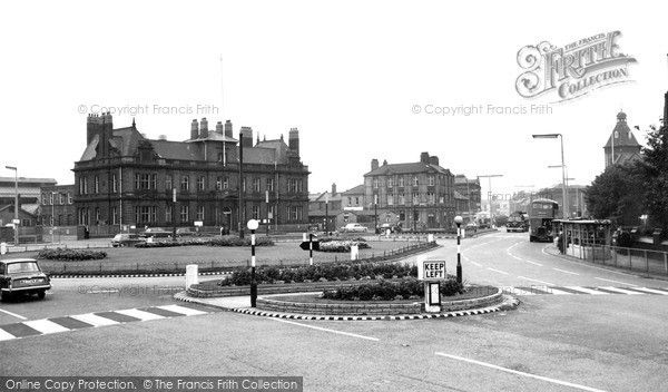 Widnes, Victoria Square c.1965, from Francis Frith