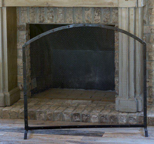 Metal Fireplace Screens | Rustic Fireplace Screens | Decorative Fireplace Screens Antique Farmhouse                                                                                                                                                                                 More