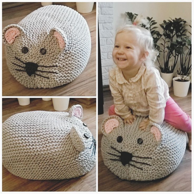 #pouf #mouse #4baby #pufa #mszka #rękodzieło #handmade #diy #scandi #scandinavianstyle #interior #wnetrze #decor #4home