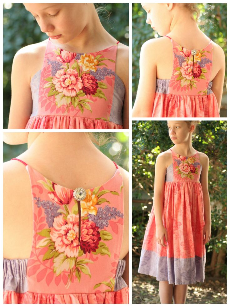 Hourglass Dress - girls' summer dress - PDF pattern by RabbitRabbitCreation on Etsy https://www.etsy.com/listing/247663404/hourglass-dress-girls-summer-dress-pdf