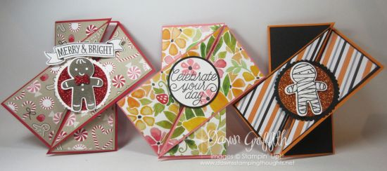 Diagonal Gate Fold card video | Dawn's Stamping Thoughts | Bloglovin'