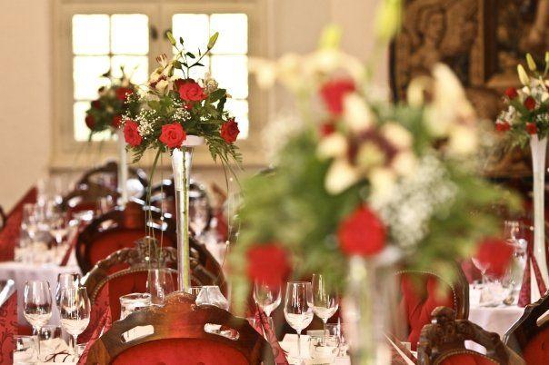 Svadobná hostina - výzdoba  Zámok Bojnice, Bojnice Castle, Slovakia #bojnicecastle #bojnice #museum #muzeum #slovensko #slovakia #history #castle #wedding #love #romantic #svadba #svadbanazamku