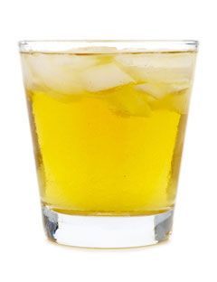 The Rusty Nail (also called, apparently, the Donald Sutherland. I support that.): 2 oz blended Scotch, 1/2 oz Drambuie.