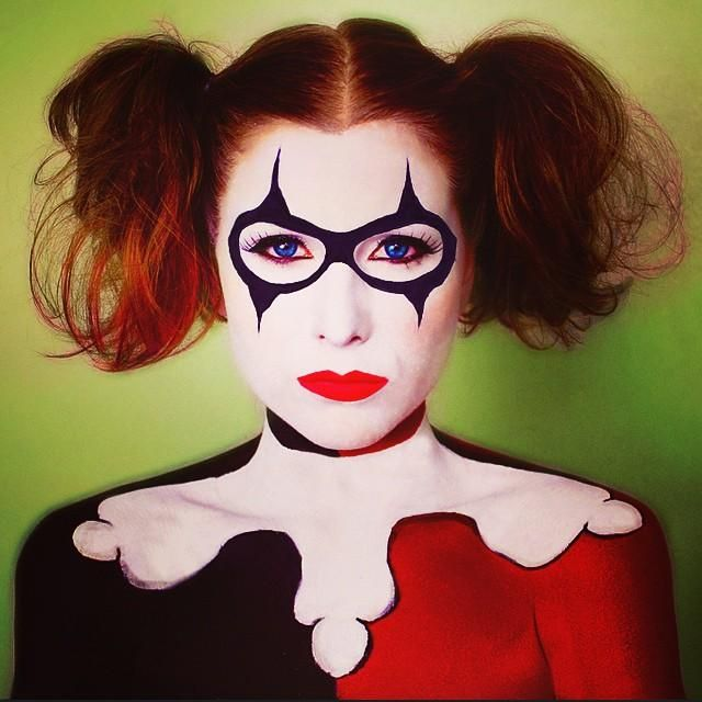 20 Seriously Cool (and Easy) Halloween Makeup Ideas ...