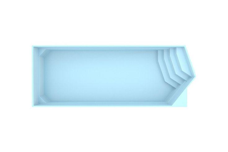 Zwembad Polyester Fonteyn Miami 1000 x 350 x 155 cm  Heeft u dit zwembad op het oog en wilt u daar meer over weten? Klop dan aan bij de deskundige adviseurs. Zij kunnen u helpen aan het bad dat aan al uw wensen voldoet. Het grote voordeel is dat de inbouwdelen van polyester zwembaden vooraf voor u kunnen worden gemonteerd waardoor uw zwembad snel kan worden geplaatst. Voor u het weet geniet u ervan in uw eigen tuin. De wanden van de polyester zwembaden bestaan uit 4 lagen:Laag 1 is een…